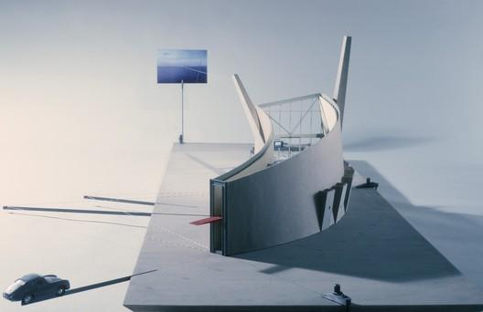 Slow House Model. Image Courtesy of Stewart Hicks