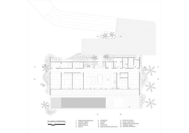 Генеральный план этажа