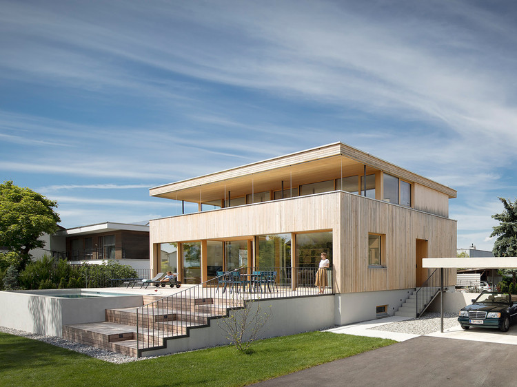 House STA / Dietrich | Untertrifaller Architekten. Image © Albrecht I. Schnabel
