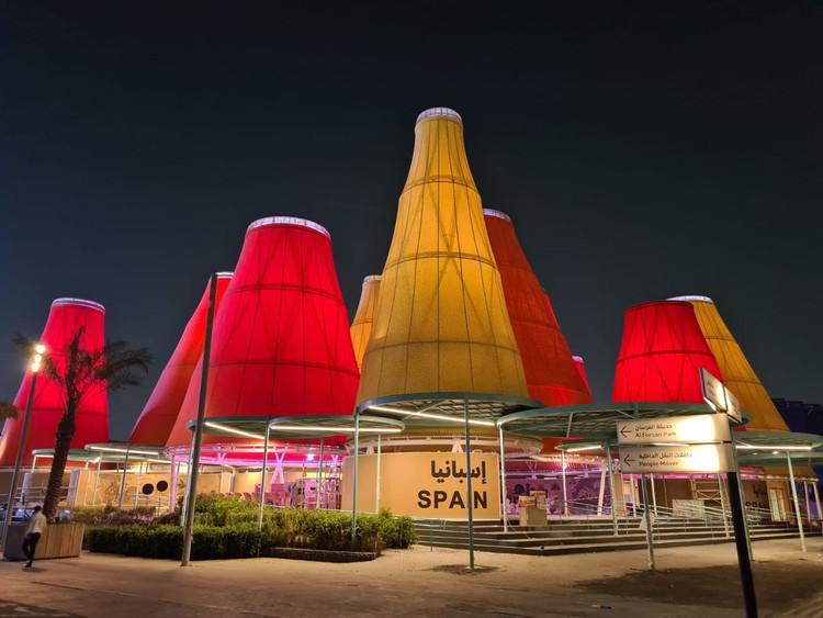 """""""Inteligencia para la vida"""": El Pabellón de España en Expo Dubái 2020, El Pabellón de España en Expo Dubái 2020. Image Cortesía de MAHALA"""