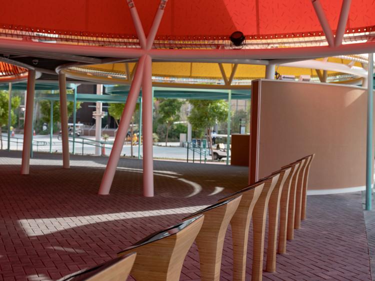 El pabellón de España en la Expo Dubai 2020. Imagen cortesía de MAHALA