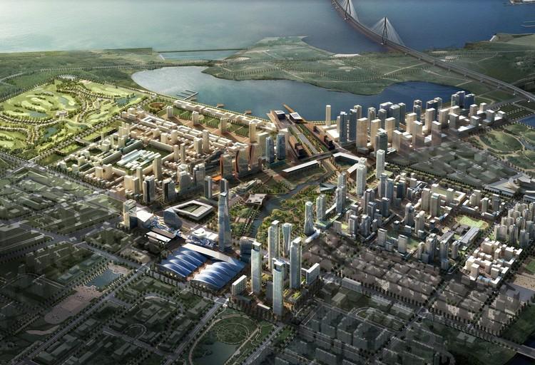 Мастер-план Сонгдо, Южная Корея.  Изображение предоставлено KPF