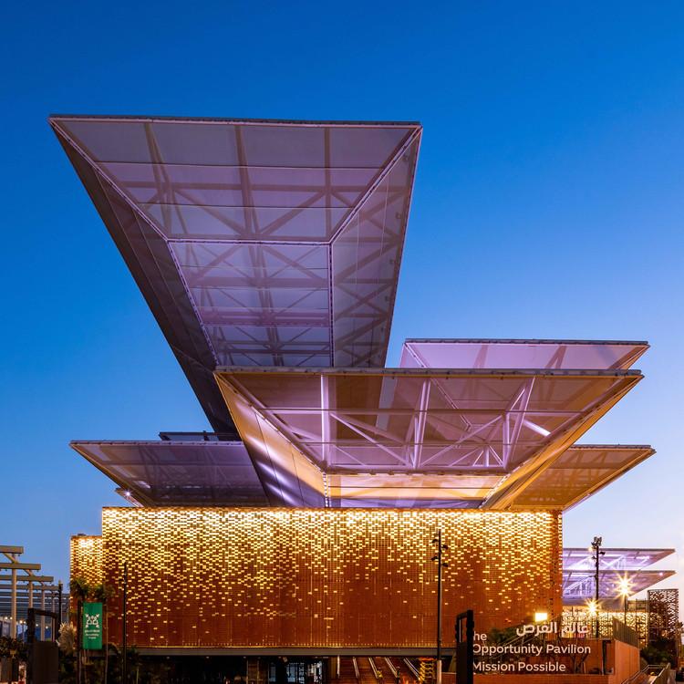"""AGi Architects diseña el """"Pabellón de la Oportunidad"""" en Expo Dubái 2020, Cortesía de Expo 2020 Dubai"""