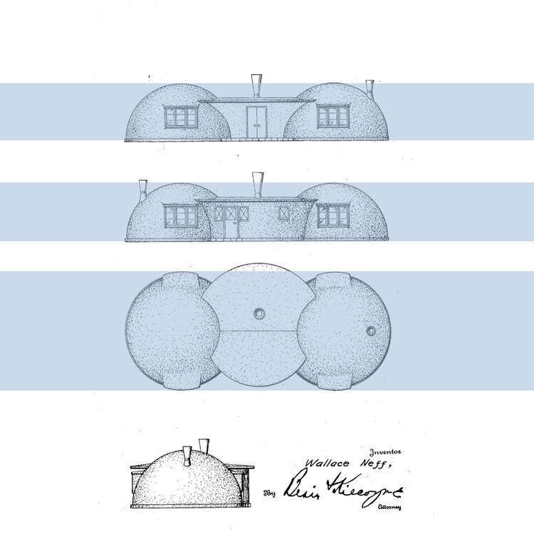 Evolución de la planta residencial en los Estados Unidos: El periodo de la posguerra, Cortesía de Wallace Neff