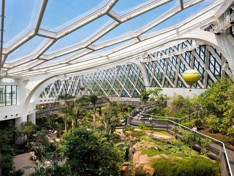 Ботанический парк Сеула |  Общественный ботанический сад.  Изображение предоставлено iF DESIGN AWARD