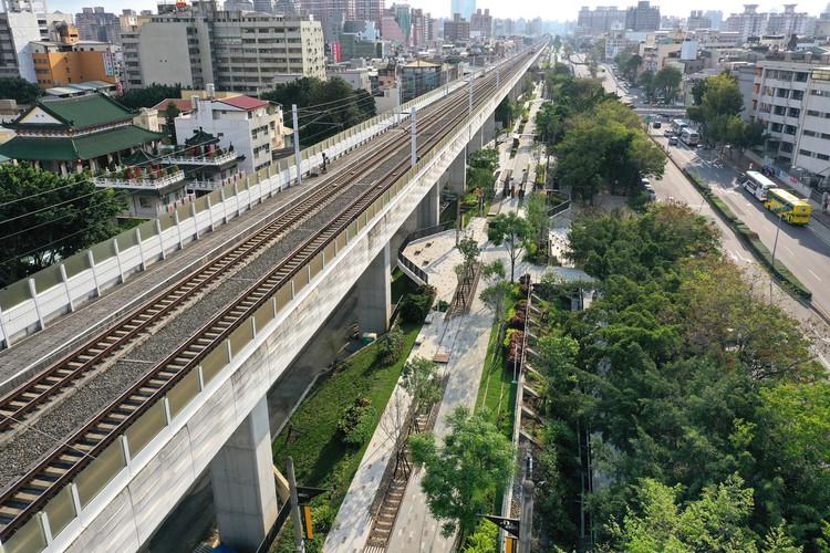 Впечатление от железной дороги |  Городская зона отдыха.  Изображение предоставлено iF DESIGN AWARD