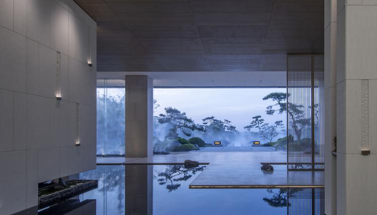 Центр продаж JiangShanYue |  Дизайн интерьера.  Изображение предоставлено iF DESIGN AWARD