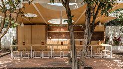 Comedor en el huerto / URLO Studio + Juan Ruiz + Amelia Tapia