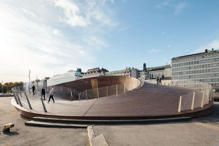 Павильон биеннале в Хельсинки от Verstas Architects.  Изображение © Туомас Уусхеймо