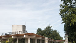 Reception Buildings Botanical Garden Meise / NU architectuuratelier