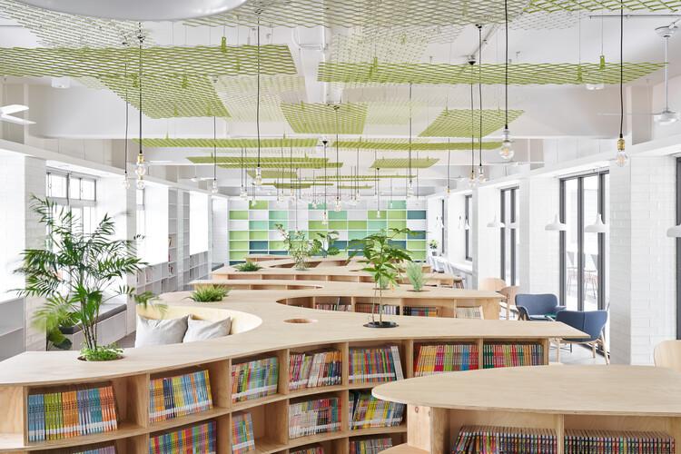 Hankou Junior High School Library / TALI DESIGN, © Hey! Cheese