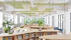 Hankou Junior High School Library / TALI DESIGN