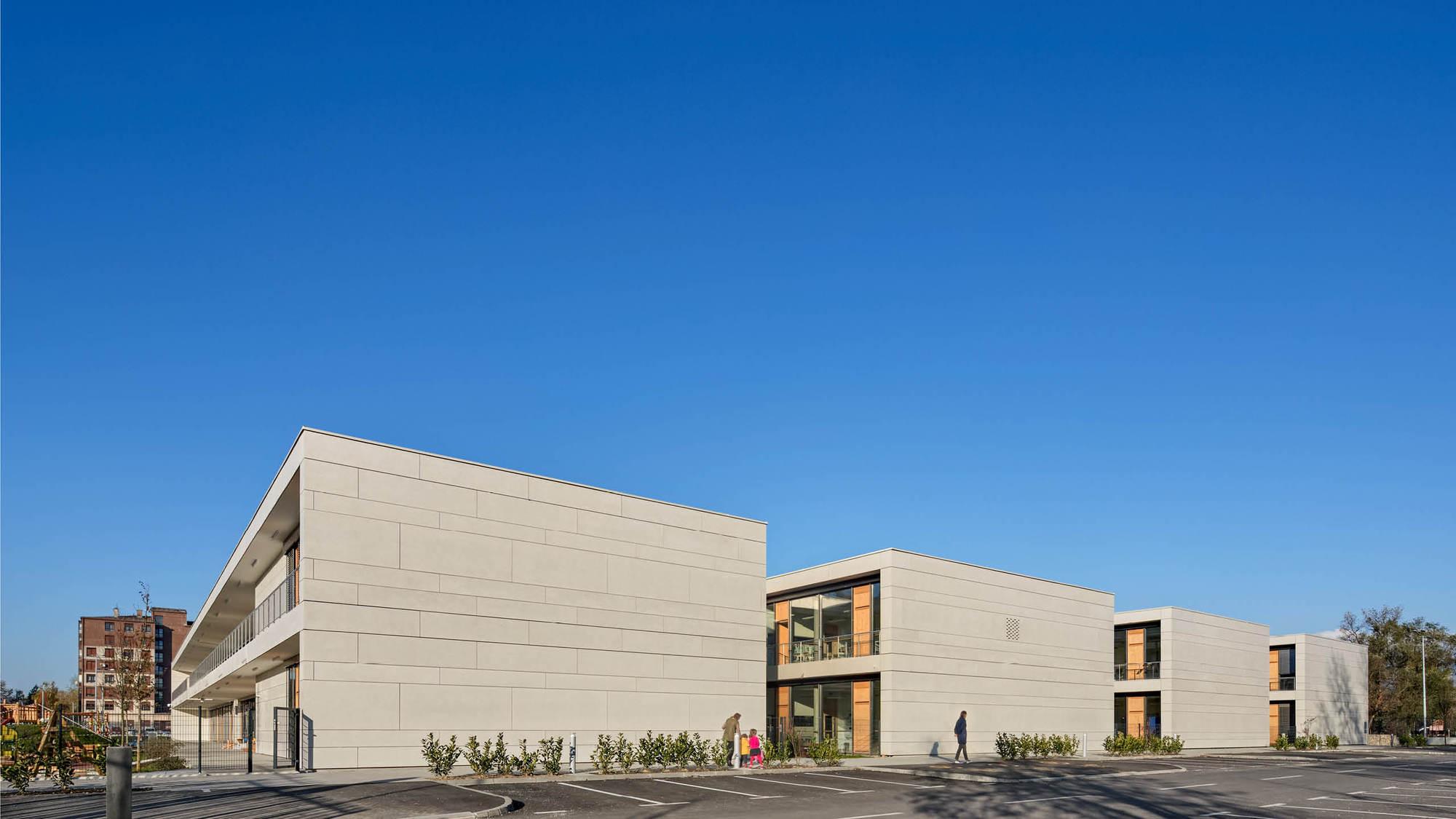 Educational Complex Središće / SANGRAD+AVP architects + Flansburgh Architects
