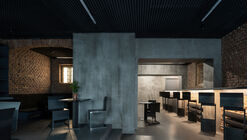 Bar-studio Krymská / Papundekl Architects