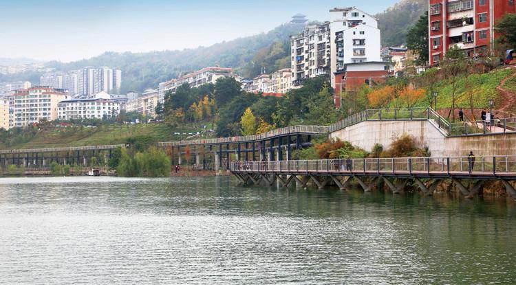 Pengxi Riverside Greenway.  Изображение © Guodong Sun