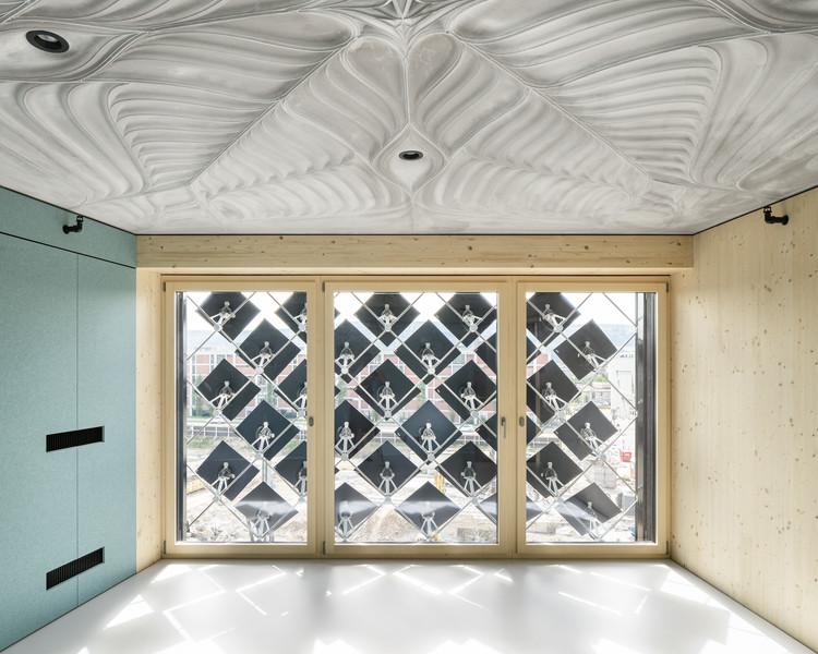 HiLo NEST Research Building Takes Shape in Switzerland, © Roman Keller