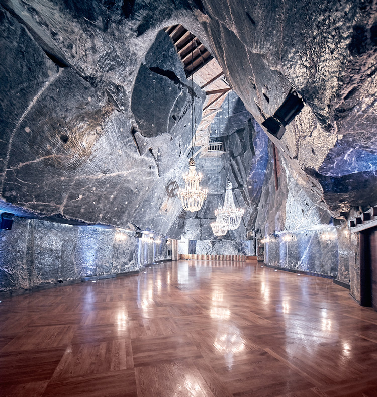 Poland's White Gold: The Story Behind one of the World's Biggest Adaptive Reuse Projects, Courtesy of Wieliczka Salt Mine