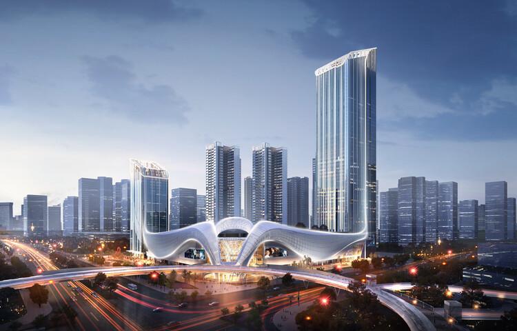 Город будущего.  Изображение © Рональд Лу и партнеры