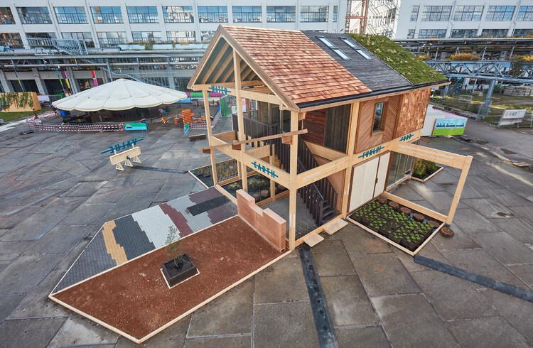 Dutch Design Week 2021: Una casa fabricada con materiales de origen biológico ilustra las posibilidades del diseño circular, © Oscar Vinck and Jeroen van der Wielen